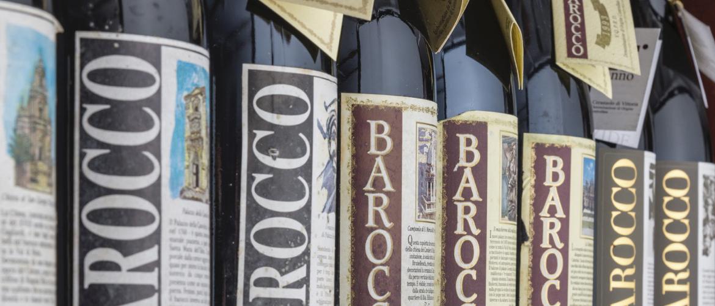 Bottiglie Vino Barocco