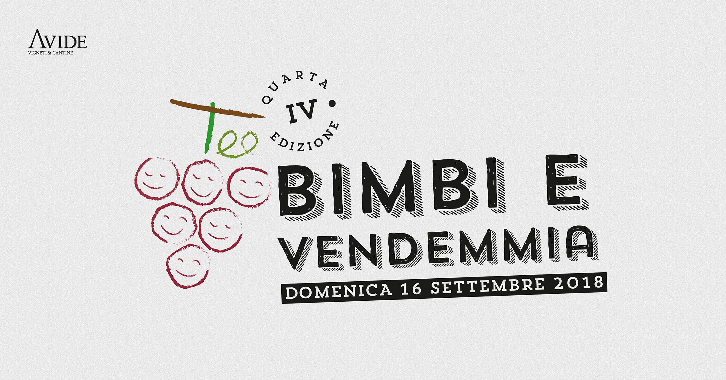 Torna Bimbi e Vendemmia, il 16 settembre da Avide Vigneti & Cantine